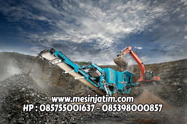 Spesifikasi mesin stone crusher
