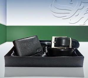 Flying Machine Men's Combo (Wallet & Belt) worth Rs.1999 for Rs.899 Only at HomeShop18 (For Today Only)