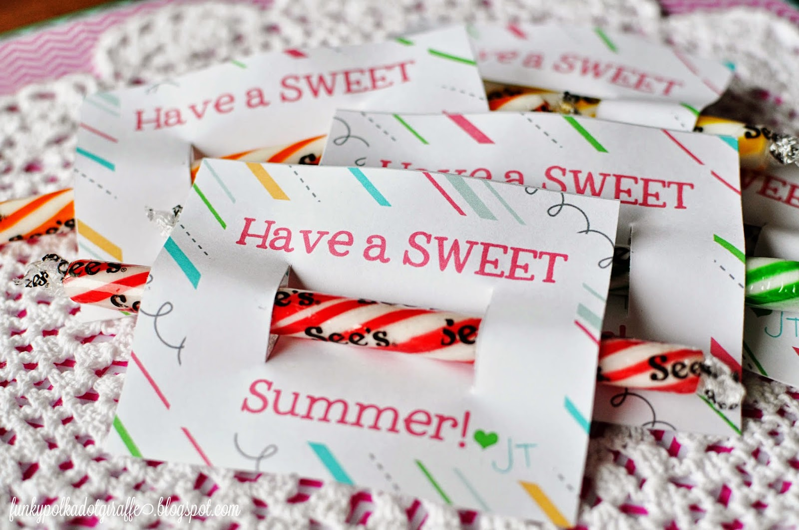 sweet summer printable