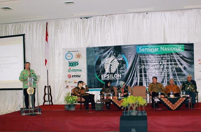 Seminar Nasional EBT Yogyakarta Sorgum sebagai alternatif bioethanol