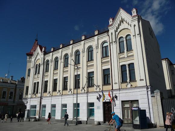 Житомир. Михайлівська вул. Колишній Будинок Трибеля
