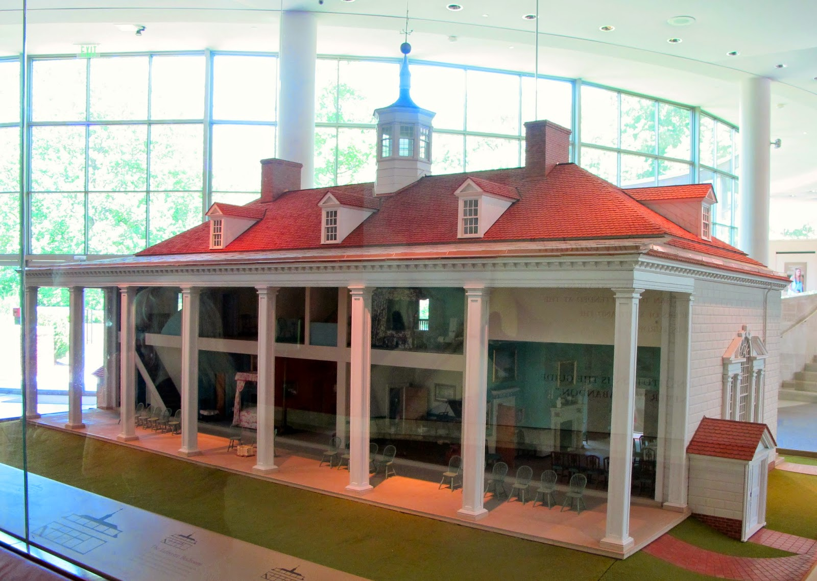 Susan S Mini Homes Mount Vernon In Miniature The Dollhouse