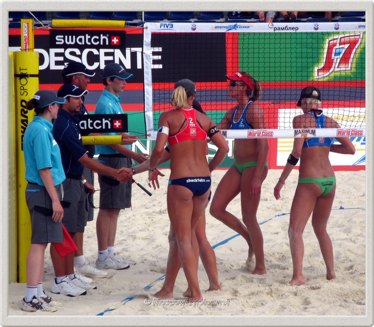 Beach Volleyball Swatch World Tour - Grand Slam Moscow 2011