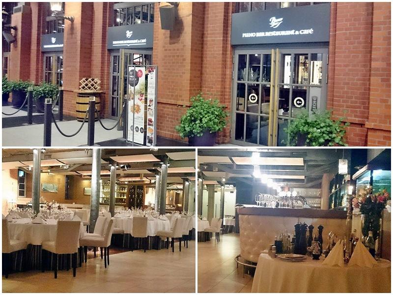 Wystrój Piano Bar Restaurant & Cafe