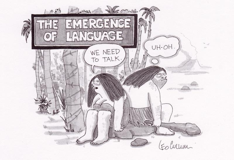 the origins of language awin language