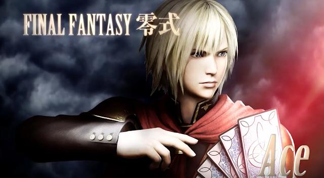 Ace se une a Final Fantasy Dissidia en su versión Arcade