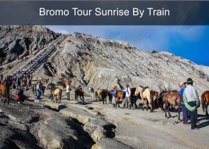 Bromo Tour Sunrise 2D1N By Train