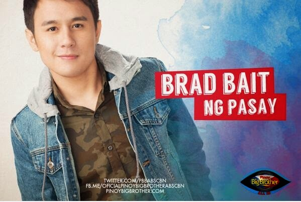 "Pinoy Big Brother All In Photos - Bobby (aka Fourth) Solomon ""Brad Bait"""