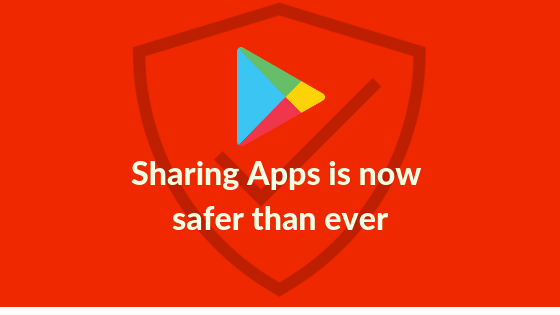 Sharing applications is now safer than ever