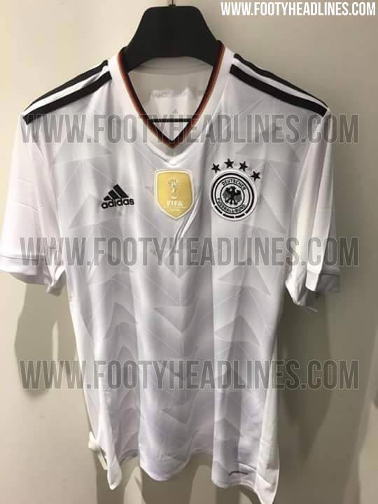 Vazam imagens da nova camisa da seleção alemã bd7cbf44cb11d