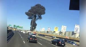 Melbourne Plane Crash, Melbourne, Australia - Five Dead as Aircraft hits the Shopping Centre