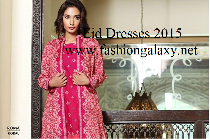 Mausummery By Huma Eid Collection 2015-16 For Women/ Prêt