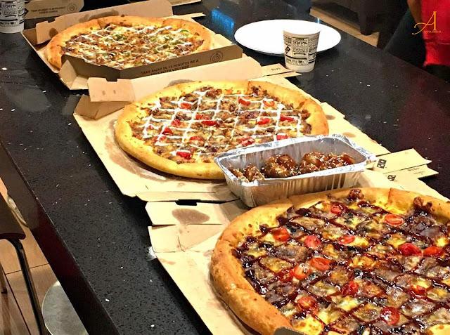 NIKMATI PEDAS SEPERTI DI KOREA - SAMYEANG SOS DARI DOMINO'S PIZZA