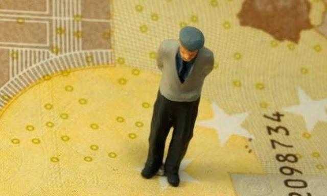 Με συντάξεις κάτω των 500 ευρώ 1,2 εκατ. συνταξιούχοι
