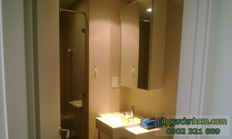 phòng tắm căn hộ cao cấp CITY GARDEN