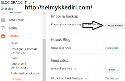 import datablog xml ukuran besar keblogger5