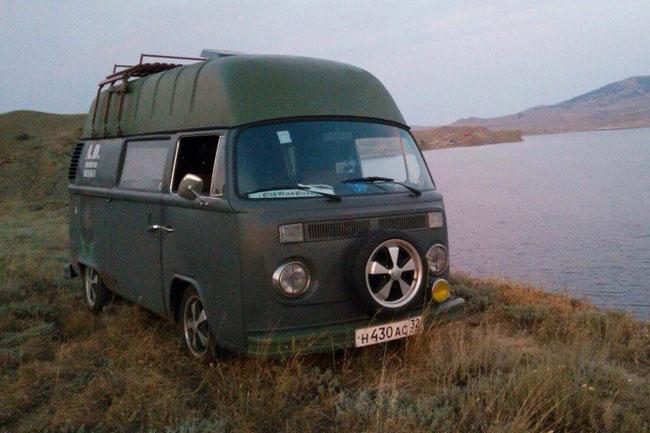 VW Highroof Delivery Van