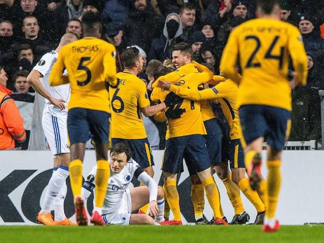 Liga Europa: Atletico Gasak Copenhagen 4-1