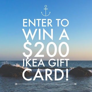 Enter the IKEA Gift Card Giveaway. Ends 3/15. Open WW
