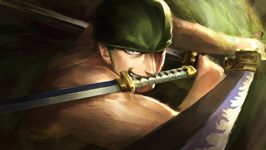 Zoro, Katana, 3 Sword Style, One Piece, 4K, #6.84