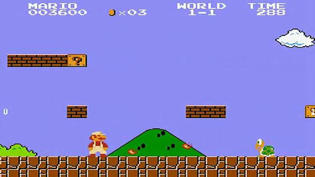 Foi descoberto um novo glitch que facilitou a diminuição do tempo dos speedruns de Super Mario Bros.