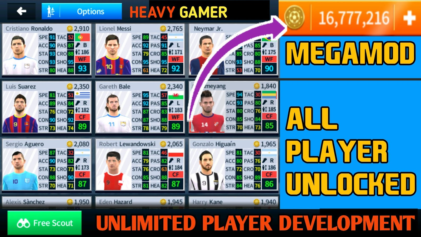 dls 18 mod apk all players unlocked