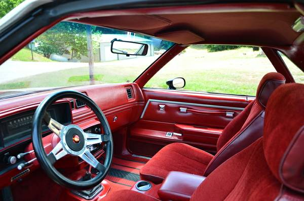 Chevrolet El Camino Interior Cabin on powerwindows