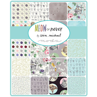 Moda Meow or Never Fabric by Erin Michael for Moda Fabrics