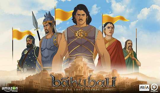 Baahubali The Lost Legends Animation Series online