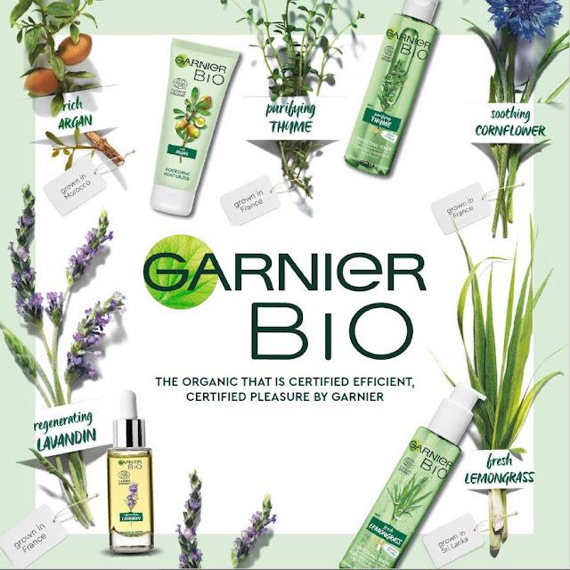 Garnier Bio Product Line