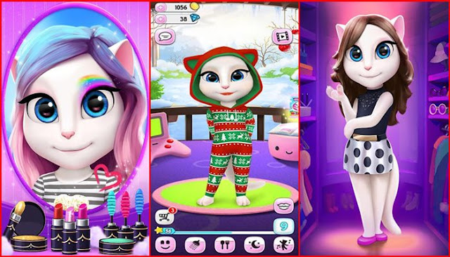 My Talking Angela 4 1 4 372 Apk Mod Android