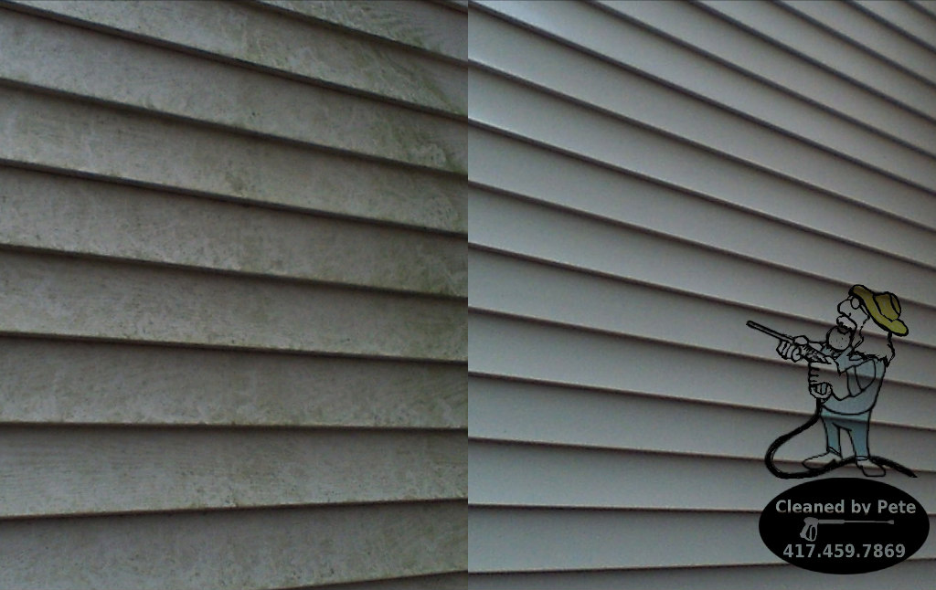 House Washing Springfield Mo Cleaned By Pete Mobile