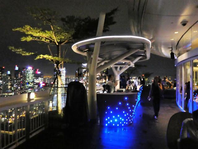fantastisk takbar i Singapore