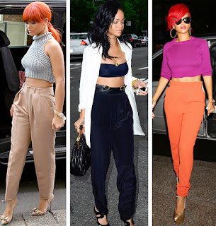 High-Waisted Pants Desings