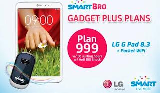 LG G Pad 8.3 Smart