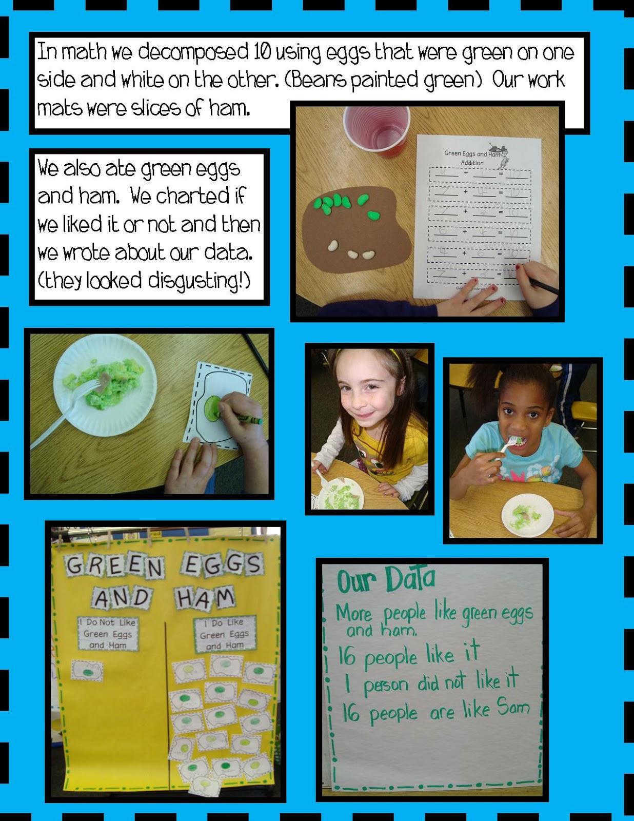 Golden Gang Kindergarten Green Eggs And Ham Freebie