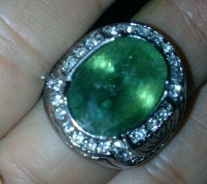 cara merawat batu green safir