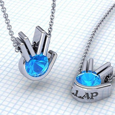 Good Bye Old Friend Star Trek Necklace