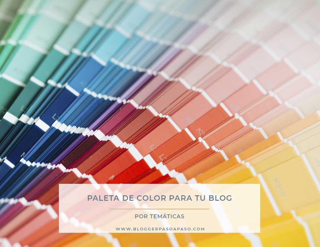 paleta de colores para tu blog por temática
