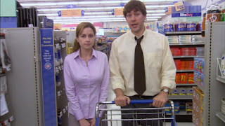 Image result for the office jim and pam shopping