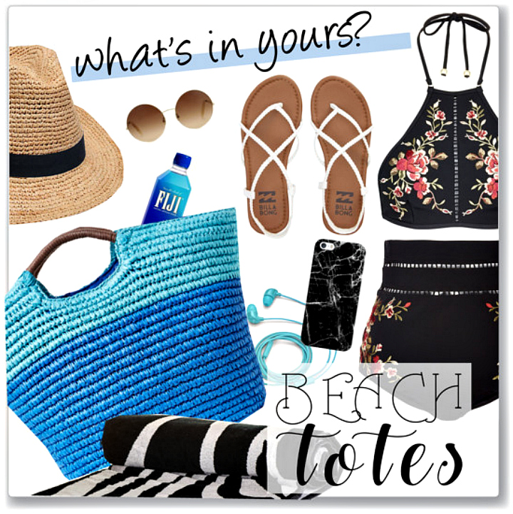 what-to-bring-to-the-beach, round-beach-towels, what-to-pack-in-your-beach-tote, beach-totes, beach-must-haves, beach-fashion, 5-essentials-that-should-be-in-your-beach-tote, what-to-bring-to-the-beach, whats-in-your-beach-bag, sun-bum-lip-balm, bobble-infuse-filter-bottle, sunnylife-water-bottle, vera-bradley-cobalt-aztec-towel, lolita-sunglasses, kate-spade-thats-bananas-iphone-case,