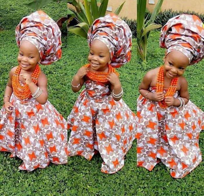 cute ankara styles for baby girl (12)