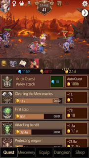 Dark Chaser Idle RPG Mod Apk v27.0 Terbaru