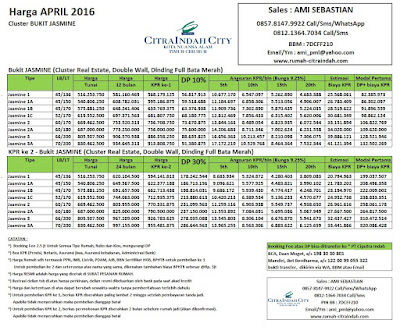 harga-jasmine-citra-indah-city-april-2016