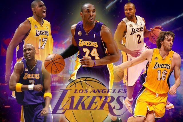 Onde comprar ingressos de jogos do Los Angeles Lakers e NBA