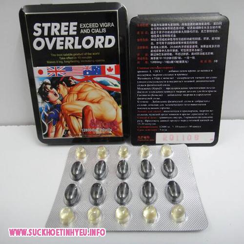 Thuốc cường dương Nhật Bản Stree Overlord