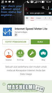 Cara Menampilkan Dan Mengetahui Kecepatan Internet Android
