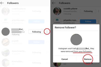Cara Menghapus Followers Instagram Tanpa Blokir