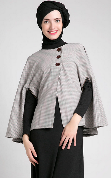 Contoh Model Baju Muslim Hamil Terbaru 2015
