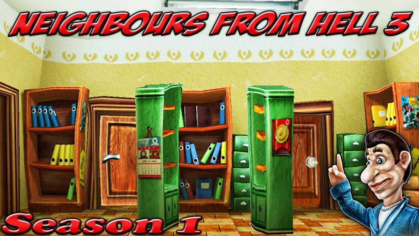 تحميل لعبة Neighbor From Hell 3 مضغوطة برابط واحد مباشر كاملة مجانا